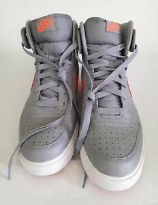 Nike Big High AC Stealth Gray/Crimson Sneakers (size 13)