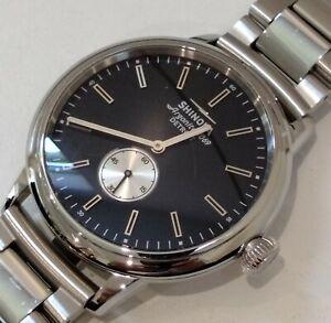 Shinola bedrock 42mm black dial men's watch