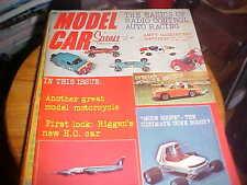 Model Car science february 1971 Slot Cars - models