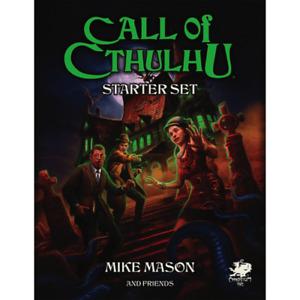 Call of Cthulhu RPG Starter Set Box [English, New & Sealed]