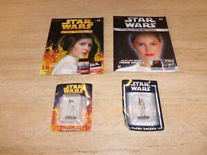 DeAgostini Official Figurine Star Wars Collection Padme Amidala and Leia Organa