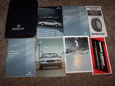 2004 Mercury Sable Owner User Guide Operator Manual GS LS Premium 3.0L V6