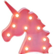 Unicorn Believe Unicorn LED Light Lighting Pink Unicorn light birthday christmas
