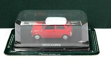 Del Prado Diecast 1:43 Morris Mini Cooper Red White MIB