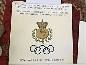 European National Olympic Committee poster General Assembly