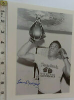 RARE LUIS RODRIGUEZ SIGNED PHOTO & PSA/DNA  COA - OFFERS ACCEPTED