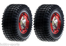NEW Losi LOSB1950 Front Mounted Chrome Tire (2): MSCT 1/16