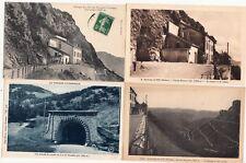 Lot 4 cartes postales anciennes DRÔME DIE col du Rousset 3