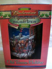 2003 Budweiser Holiday Old Towne Holiday Mug