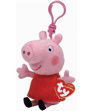 Ty Beanie Babies 46131 Peppa Pig Key Clip