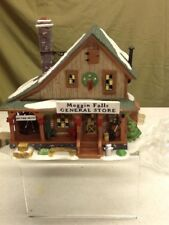 Department 56 New England Village Moggin Falls General Store 1998