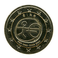 IRLAND - 2 Euro 2009 - 10 Jahre WWU - vergoldet (10554/852N)