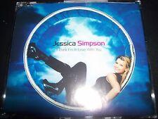 Jessica Simpson I Think I'm In Love With You  (Australia) CD Single - Like New