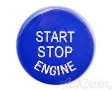 BMW F Series F30 F10 F01 F25 F15 Blue Start Stop Engine Push Button Cover NEW