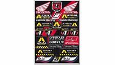 BLACKBIRD RACING Kit Adhesivos Honda Gariboldi Blackbird Racing 5076G