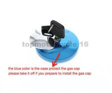 Fuel Gas Cap with Cover Two Key Tank For Honda Rebel CMX250 CMX250C High Quality