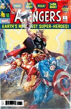 AVENGERS VOL 7 #1 Exclusive Crain Variant Cover NM