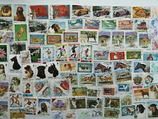 100 Different Afghanistan Stamp Collection