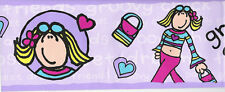 Groovy Chick Bang On The Door Wallpaper Border