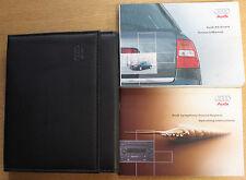 AUDI A6 C5 AVANT HANDBOOK MANUAL WALLET 1998-2005 PACK 14606