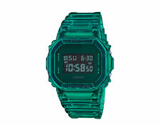 Casio G-shock DW5600 Cor Verde Esqueleto Resina Digital Relógio Masculino DW5600SB-3