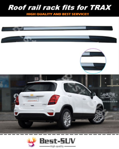 2Pcs Fit for Chevrolet Chevy Trax 2013-2021 Roof Rail Rack Side Rail Bar Holder
