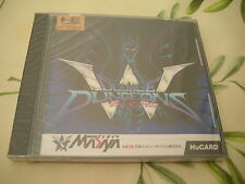 >> DOUBLE DUNGEON RPG PC ENGINE BRAND NEW JAPAN NEW FACTORY SEALED! <<