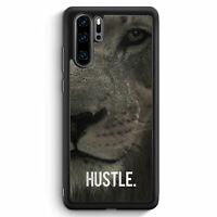 Hustle. Löwe Motivation Huawei P30 Pro Silikon Hülle Motiv Design Tiere Spruc...