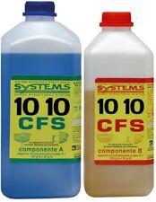 Resina epossidica Cecchi 10 10 C-system incolla ripara Stucco vetroresina 4 5 kg