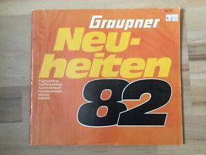Graupner Katalog Neuheiten 1982
