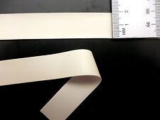Latex Rubber Trim Strips 0.50mm, 20mm x 200cm, White