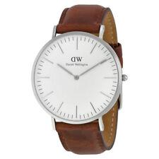 Relojes de pulsera Classic de cuero resistente al agua