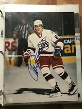 Teemu Selanne  Autographed Auto Signed 8x10 Photo Winnipeg Jets Ducks Finland