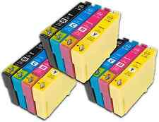 12 T1295 non-OEM Ink Cartridges For Epson T1291-4 Stylus Workforce WF-7515