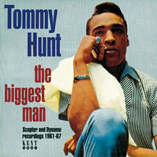 """TOMMY HUNT  """"THE BIGGEST MAN - THE SCEPTER AND DYNAMO RECORDINGS 1961-1967"""""""