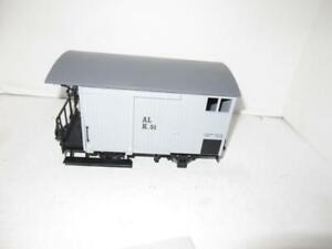 LGB G SCALE - SHORT GREY BOXCAR -  EXC. - HB1
