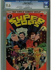 SUPER COPS #1 CGC 9.6 NEAR MINT PLUS RED CIRCLE COMICS 1974 WHITE PAGES HARD