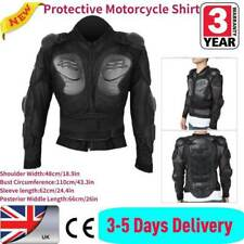 Adult Biker Body Armour Motorcycle Motorbike Motocross Protector Jacket L UK