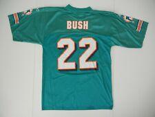 MIAMI DOLPHINS Nfl Football Team #22 REGGIE BUSH JERSEY Fan Shirt Sz Men MEDIUM