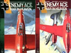 Enemy Ace War in Heaven Set Garth Ennis Russ Heath Chris Weston 1 2 HTF NM