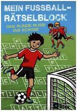 Mein Fußball-Rätselblock von Bernd Zumdick (2016, Taschenbuch)
