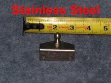 Marine Boat Stainless Steel Strut OUTSIDE Angle Bracket Spring Plate Mount Stud