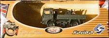 CAMION ARMEE RENAULT TRM 2000 SOLIDO MILITARY 1 1/55 CANON 22MM PLATEAU 6152
