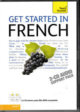 D1 Teach Yourself Get Started in French: Audio Support by Catrine Carpenter 2CDs