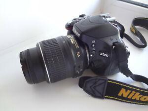 Nikon D5100 16.2MP Digital SLR Camera With VR 18-55 mm Lens Kit +  SD 16Gb + Bag