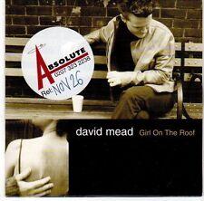 (EL154) David Mead, Girl On The Roof - 2001 DJ CD