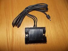 BLACK ANODIZED REGULATOR RECTIFIER 19 AMPS HARLEY SPORTSTER LATE 84-90 OE STYLE