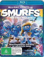 Smurfs: The Lost Village (Blu-ray, 2017) (Region B) Aussie Release