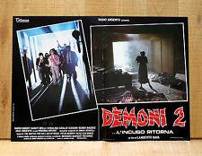 DEMONI 2 fotobusta poster affiche Lamberto Bava Dario Argento Ford Fiesta Horror