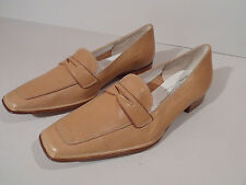 Gabriele by G Beni Ladies Beige Cream Leather Sole Shoes EU 35.5 UK 3 Italian